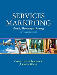 Services Marketing: People, Technology, Strategy (7th Edition) by Christopher H Lovelock (2010-01-29)