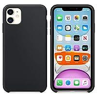 Microsonic 21770 Apple iPhone 11 6.1 inç Kılıf Liquid Lansman Silikon Siyah