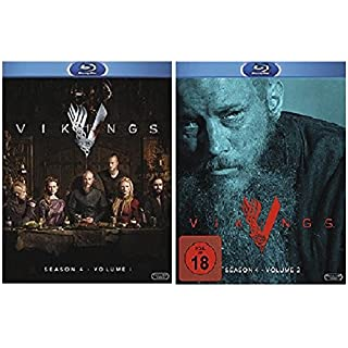 Vikings Staffel 4.1+4.2 [Blu-ray Set] Die komplette Staffel 4