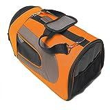 D&F Caisse De Transport Pliable Pet Crate,Orange, Medium - Best Reviews Guide