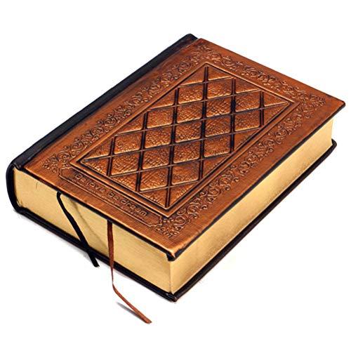Vintage in rilievo copertura notebook life story book blank, album da viaggio ultra spessa di scrittura ufficiale diario di lavoro a