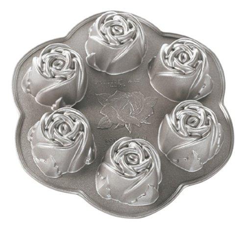 Nordic Ware Platinum Rosebud Baking Pan