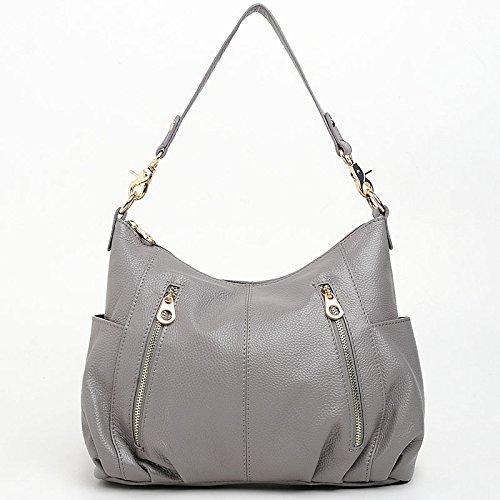 Chlln Die Neuen Sommer - Damen Tasche Messenger - Bag Umhängetasche Alle Treffer Trend gray
