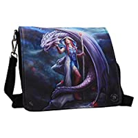 Dragon Mage Embossed Shoulder Bag