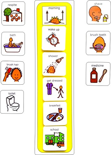 visual-morning-routine-aac-picture-communication-symbols