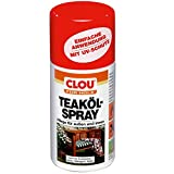 Clou 4007141208711 – Teaköl-Spray 300 ml