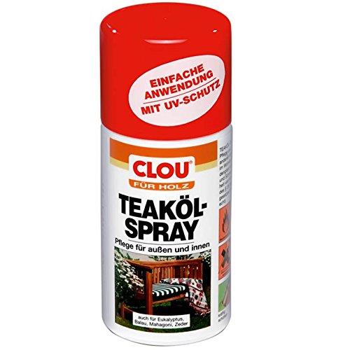 Clou 4007141208711-Teaköl-Spray 300ml