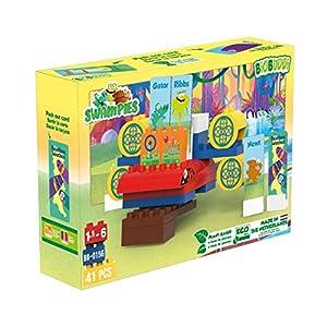 BIOBUDDI Swampies BB-0156 Juguete de construcción - Juguetes de construcción (Juego de construcción, Multicolor, 1,5 año(s), 41 Pieza(s), Niño/niña, Niños)