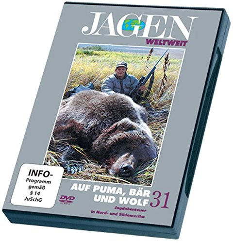 Auf Puma, Bär und Wolf - JAGEN WELTWEIT DVD Nr. 31: Jagdabenteuer in Nord- und Südamerika