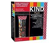KIND PLUS, Dark Chocolate Cherry Cashew + Antioxidants, Gluten Free Bars (Pack of 12)