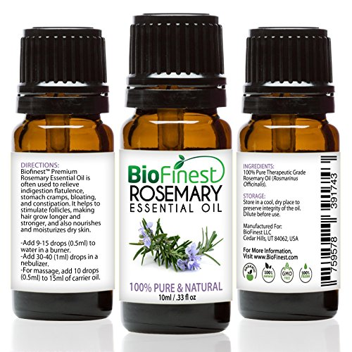 Rosemary Essential Oil - 100% Pure Undiluted - Therapeutic Grade - Australia...