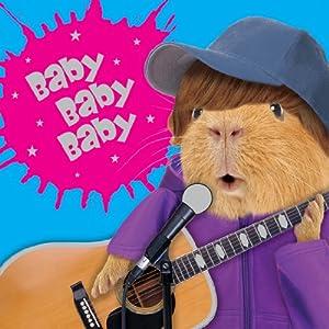 Meerschweinchen Karte - Geburtstagskarte - BABY BABY BABY