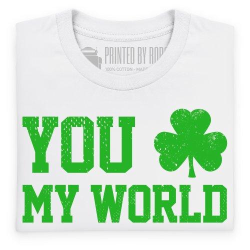 You Rock My World T-Shirt, Damen Wei