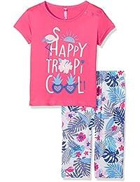 Lina Pink Bf.Tropicool.Pco.Mz, Ensemble de Pyjama Fille