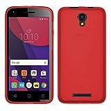 TBOC® Rot Gel TPU Hülle für Alcatel Pixi 4 (5) 3G