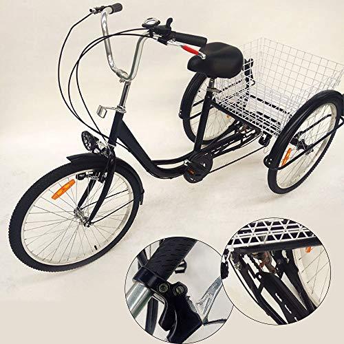 OUBAYLEW Triciclo Adulto Cesta 24