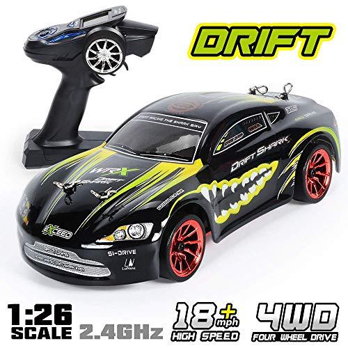 RC Auto 1/26 Skala 4x4 RTR Fernbedienung Racing Drift Auto 360 ° Drehung Stunt High Speed Drifting Fahrzeug 2.4 GHz