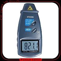 Digitaler optischer Drehzahlmesser Laser Tacho Tachometer Motortester U/min DZ1