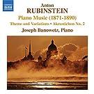 Rubinstein: Piano Music (1871-1890)