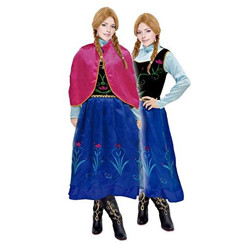 Disfraz Princesa de Nieve mujer adulto para Carnaval (M)