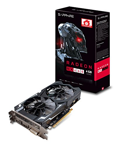 Sapphire Technology Sapphire Radeon Rx 460 4gb Gddr5 Hdmi / Dvi-d / Dp Oc (uefi) Pci-e Graphics Card (11257-06-20g)