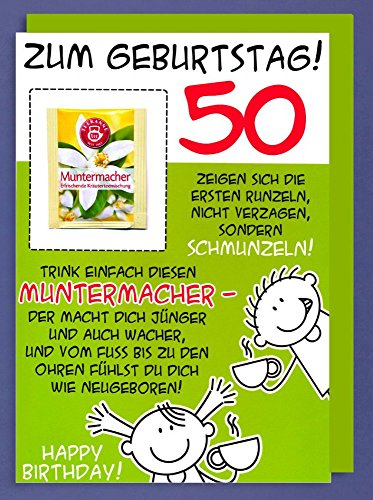 Geburtstagskarte 50 Lustig Test Analyse Jan 2019 Top 10