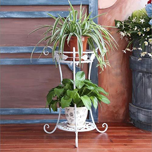 f15d806e06e WTL Porte-fleurs Support de fleur en métal Étagères d usine intérieure et  extérieure