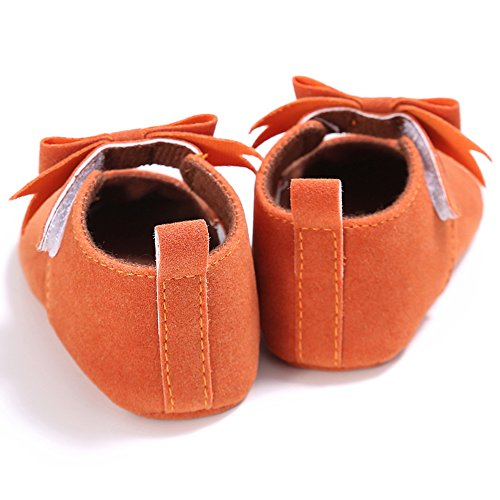 Neugeborene Baby Mädchen Weiche Sohle Bowknot Schuhe Kleinkind Prewalker Sneakers Khaki