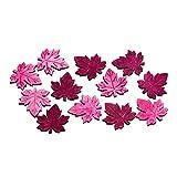 Streudeko BLATT - 36 Stück - 4 cm - Beere - aus Holz - Herbst - Tischdeko - Tafeldeko - Tischdeko für Hochzeit, Taufe, Geburtstag, Gartenparty, Jubiläum, Kommunion, Konfirmation