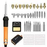 39in1 Pirografia Legna Kit&Saldatura Elettrica Kit,GOCHANGE Includere Penna a Saldare a Temperatura...