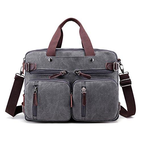 Borsette,borsa di tela,singola spalla /messenger bag-cachi grigio