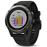 Garmin fēnix 5 GPS-Multisport-Smartwatch - 24/7 Herzfrequenzmessung am Handgelenk, zahlreiche Sport- & Navigationsfunktionen, 1,2 Zoll (3cm) Farbdisplay - 3