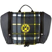 BVB-Kulturtasche (kariert) one size