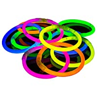 The Glowhouse 50 Pack of Glow Stick Bracelets