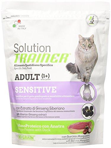 TRAINER Lösung Sensitive Katzenfutter Katzen-Dry Premium-