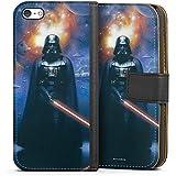 Apple iPhone 5c Tasche Hülle Flip Case Star Wars Merchandise Fanartikel The Dark Side