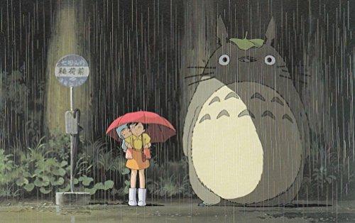 My Neighbor Totoro 013 Waterproof Plastic Poster Poster di Plastica Impermeabile - Anti-Fade - Possono utilizzare su Outdoor/Giardino/Bagno