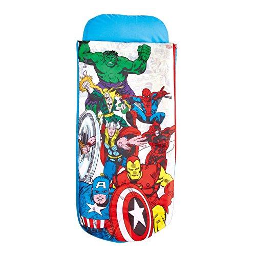 ReadyBed Avengers - Junior-ReadyBed - Kinder-Schlafsack und Luftbett in einem -