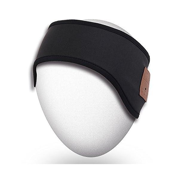 Rotibox-Outdoor-Bluetooth-Headband-Running-Headband-Sleepphone-Speakerphone-with-Bluetooth-Stereo-Speaker-HeadphonesMicrophoneHands-Free-For-Sports-Running-Gym-Travel-Compatible-With-iPhoneiPadSamsung