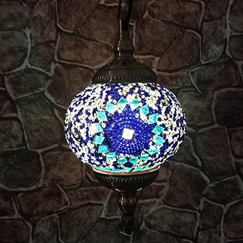 JWWOZ Lámpara De Mesa Lámpara De Cama Turca
