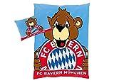 FC Bayern Bettwäsche bunt Größe 100x135 cm (40x60 cm)