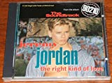 JEREMY JORDAN. THE RIGHT KIND OF LOVE. 1992 6 TRACK REMIXES CD SINGLE WITH BEVERLY HILLS 90210 CAST POSTER. WO167CD