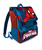 Marvel Spiderman - Zaino estensibile scuola elementare italiano 41cm poliestere