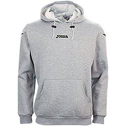 Joma Atenas - Sudadera con capucha unisex, color gris, talla M
