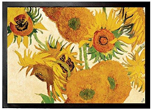 Vincent Van Gogh - Catorce Girasoles En Un Florero, 1888 Felpudo Alfom