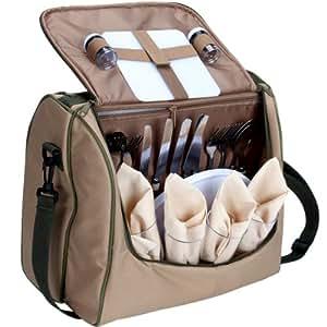 BUTLERS INSIDE OUT Kühl- und Picknicktasche für 4 Personen