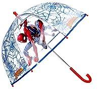 Umbrella Dome Transparent Manual Umbrella Child Children Umbrella Spiderman Marvel 60 cm