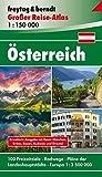 Österreich, Autoatlas 1:150.000, Großer Reise-Atlas (freytag & berndt Autoatlanten)