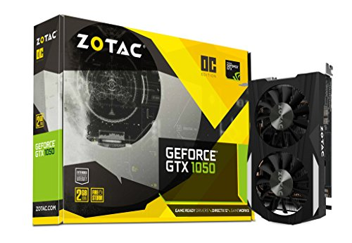 ZOTAC GeForce GTX 1050 2GB DDR5 OC with GeForce Experience
