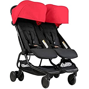 Mountain Buggy Nano Duo Stroller Ruby DENGHENG ❤ Stroller Sleep Bag, Softly padded with warm fleece lining and extra quilting. ❤ 2 in 1 - Removable front unzips, easily converting to a comfy Seat liner ❤ Can Also be used as a Padded Pushchair or Buggy Liner- ideal for the summer months 10